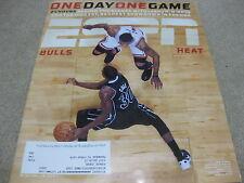 Derrick Rose Norris Cole ESPN The Magazine 2012 NBA Chicago Bulls vs Miami Heat