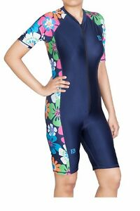 Ladies Modest Swimwear. OnePiece Modest Swimwear, Jumpsuit, Surfing Suit, UPF 50