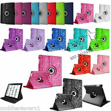 Leather 360 Degree Rotating Smart Stand Case Cover For APPLE iPad Mini 2 3 4 Air