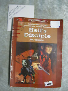 Hell's Disciple - Walt Beaumont cleveland western #410 OzSellerFasterPost!