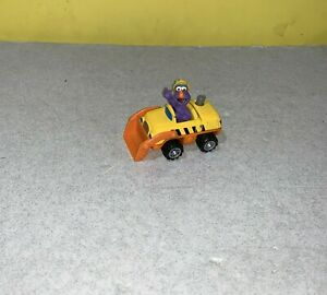 2001 Mattel Sesame Street Toy Construction Dozer Vehicle Telly