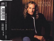 cd-single, Michael Bolton - Said I Loved You... But I Lied, 2 Tracks, Australia