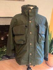 Hodgman Fly Fishing Hunting Rain Parka Jacket Coat Men's: M Waterproof Nice!