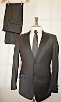 RACING GREEN ~LONDON SMART ELEGANT BLACK TUXEDO/DRESS SUIT UK 36 EU 46