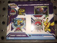 Pokemon 2014 World Championship Deck Trent Orndorff SELAED Trevgor