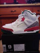 Jordan Spizike White Red Green Size 9 DS
