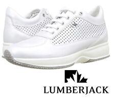 Zapatos de Mujer Verano Lumberjack Piel Tejido Casual Cuña Interior SW01305-008
