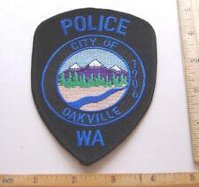 +~CITY OF OAKVILLE POLICE~1906~WASHINGTON FABRIC PATCH~