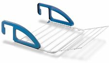 Bries Heizungs- u. Balkon Wäschetrockner Epotherm weiß-blau Metaltex  M405812080