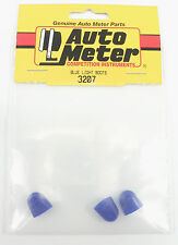 ATM-3207 Auto Meter Blue Light Bulb Boot Covers, 3 Pack  *Gauges Will Glow Blue*