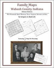 Family Maps Wabash County Indiana Genealogy IN Plat