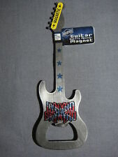 Lynyrd Skynyrd Metal Guitar Bottle Opener Rock And Roll Magnet Not Included