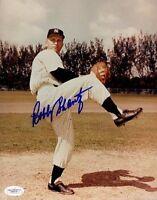Bobby Shantz Yankees Signed Jsa Certed 8x10 Photo Autograph Authentic