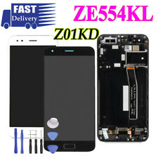 LCD Touch Digitizer Screen Assembly Frame For ASUS Zenfone 4 ZE554KL Z01KD
