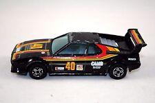 Burago 1:43 BMW M1 Racing Car in No:40 CAM2 Logo