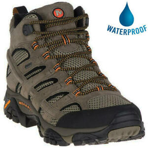 Merrell Moab 2 Mid GTX Gore-Tex Mens Leather Waterproof Walking Boots Size 7-14