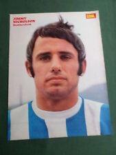 Jimmy Nicholson-Huddersfield Player-1 página Revista Panorama-clipping/cutting