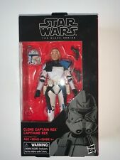 Hasbro Star Wars Clone Captain Rex Black Series 6 Inch Action Figure