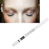 New White Eyeliner Pencil Waterproof Long Lasting Charming Eye Brighten Make Up#