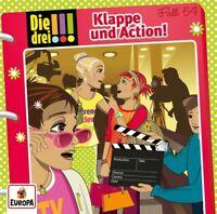 DIE DREI !!! - FALL 054 KLAPPE UND ACTION!   CD NEU