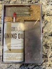 BUCK Knife Sharpening Honing Kit with Two Stones OilNEW