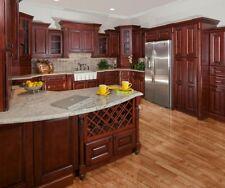 ALL WOOD 10x10 Kitchen Cabinets  Sonoma Merlot  RTA  FREE SHIPPING