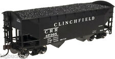 Atlas Trainman CLINCHFIELD 2-Bay Offset (Round End) Hopper Car  R-T-R