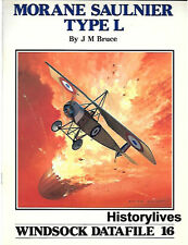 Windsock Datafile No.16 Morane Saulnier Type L History 1/72 1/48 Plans Markings