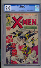 X-Men #1 CGC 9.0 VF/NM Marvel 1st Magneto Cyclops Iceman Beast Angel OW/W Pages