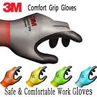 3M Comfort Grip Work Gloves Safety Electrical Wiring Gardening Mechanic 1~12 P