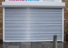ELECTRIC SECURITY GALVANISED STEEL ROLLER SHUTTER / GARAGE DOORS - INITIAL RENT