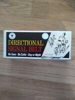 Vintage 1960s Cycle Bicycle Directional Signal Belt Boxed Never Used