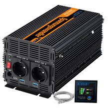 Inversor Convertidor 12V 220V 2000 4000 Watt Inverter Transformator 2 x 2.1A USB