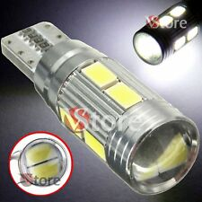 4 Lámparas T10 LED HID Can-bus 10 SMD 5630 BIANCO Bombillas Xenón 6000 Ubicación