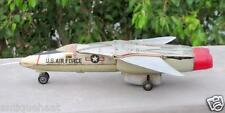 Vintage Old Battery Operate US Air Force F111A Litho Airplane Toy ,TN Mark Japan