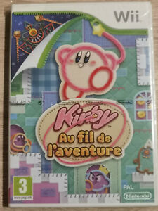 Kirby Au Kabel De L'Abenteuer Nintendo Wii U Neu Blister