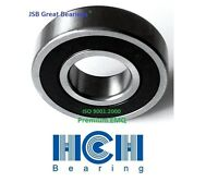 (2) 6207-2RS Premium EMQ seal bearing 35x72x17 6207 RS ball bearings ABEC3/C3