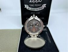Mega Rare! ZIPPO Limited Edition Mechanical Automatic Pocket Watch w Case