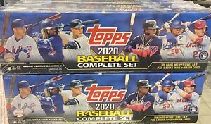 2020 Topps Complete Set Series 1 And 2 700 Cards Sealed Robert Qty Sealed Box