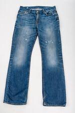 GAP 1969 Mens Vintage Distressed Straight Leg Blue Jeans Trousers 32 32''