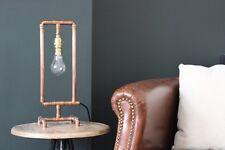 Copper Lamp Handmade Industrial Table Lamp, Metal, Vintage, Retro
