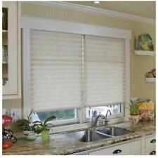 """2 pack 36"""" x 72"""" Light Filtering Redi Shade White Pleated Paper Window Blind"""