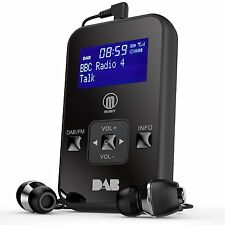 Portable Pocket Personal Handheld DAB Digital DAB FM Radio LCD Display