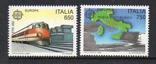 ITALY MNH 1988 SG1990-1991 EUROPA - TRANSPORT & COMMUNICATIONS