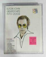 Elton John Greatest Hits 1970 - 2002 2 Cassettes Set