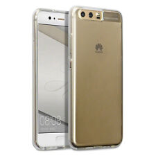 Huawei P10 High Impact Resistant Silicone Gel TPU Flex Shell Slim Bumper Clear