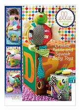 Kwik Sew SEWING PATTERN K137 Baby Toys- Activity Cube & Bug Toy