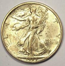 1933-S Walking Liberty Half Dollar 50C Coin - Excellent Condition - Nice Luster!