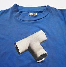 Vintage 80's The Tubes Rock Concert Tour t-shirt Completion Backward Principle