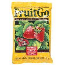 FruitGo Fruit Go Strawberry Hard Candy Individually wrapped Candies 5.05 oz Bag